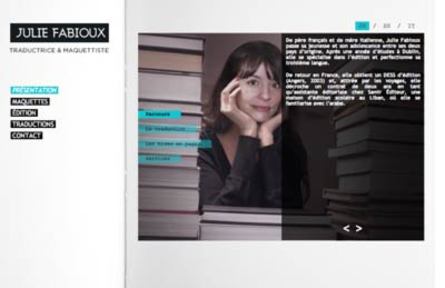 Site Internet de Julie Fabioux